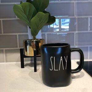 Rae Dunn NWT SLAY Black Ceramic Mug